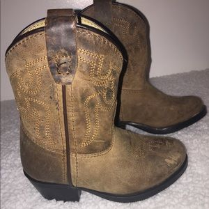 Other - Practically new Western Cowboy Leather Boots